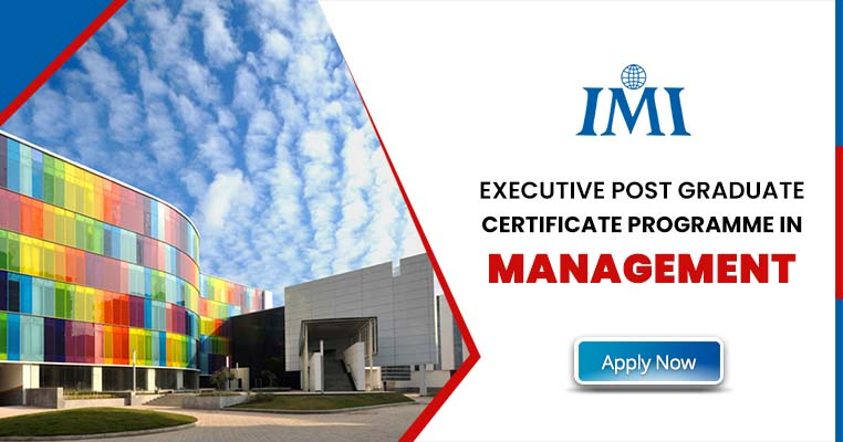 Executive Post Graduate Certificate Programme in Management