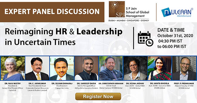Panel Discussion SP Jain Global