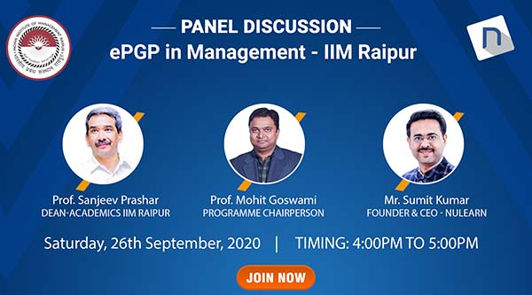 ePGP in Management Panel Discussion