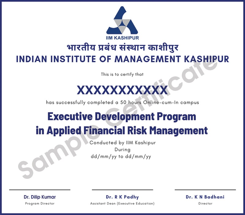Applied Financial Risk Management