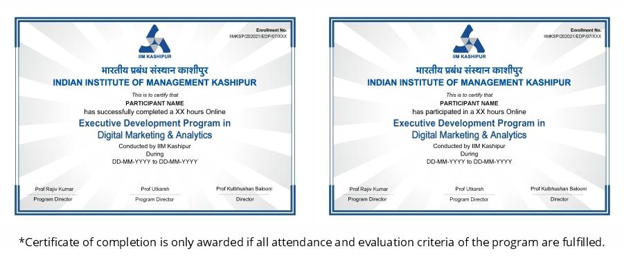 best online digital marketing certificate programs
