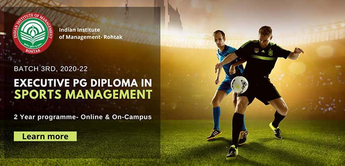 Post Graduate Diploma in Sports Management