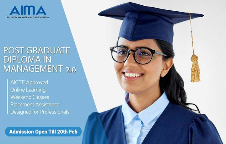 Post Graduate Diploma in Management with AIMA