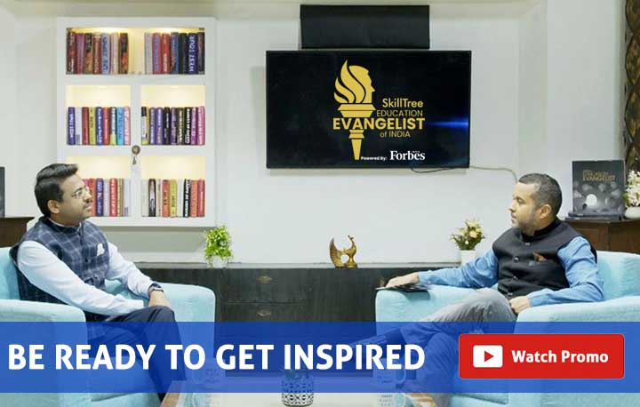 Education Evangelist of India | Mr. Sumit Kumar | Mr. Chetan Bhagat | Nulearn | ForbesIndia