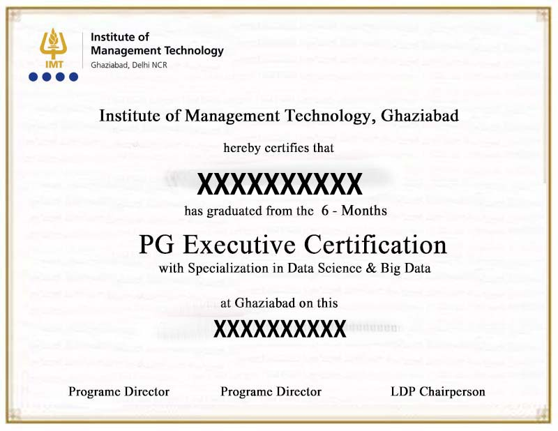 PG Executive Certificate
