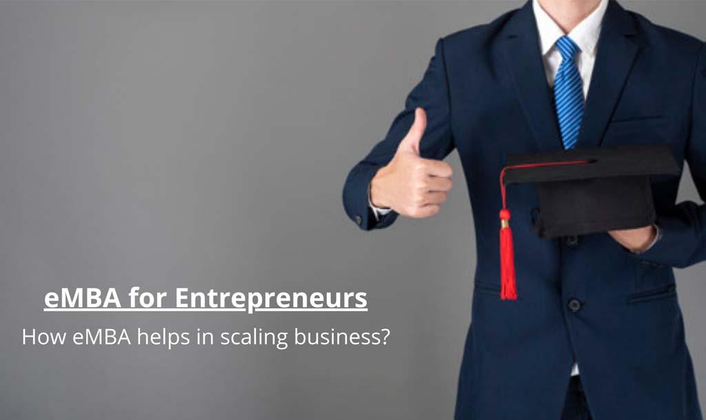 eMBA for Entrepreneurs